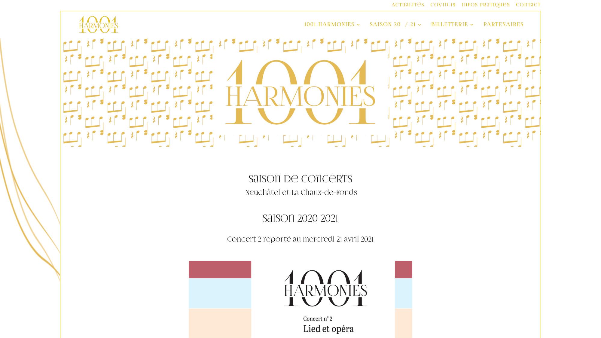 Site 1001 Harmonies