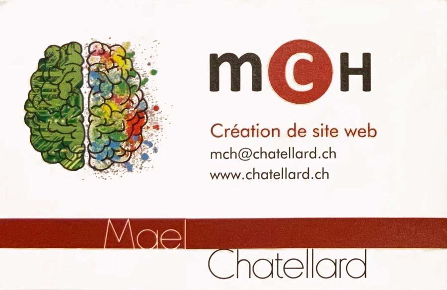 Carte de visite création web